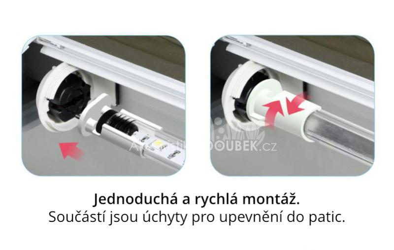 Resun GTR LED do krytu - 23W 120cm SUPER SUNNY