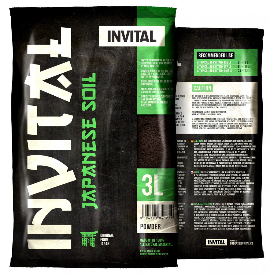 INVITAL Japanese Soil 3l Powder